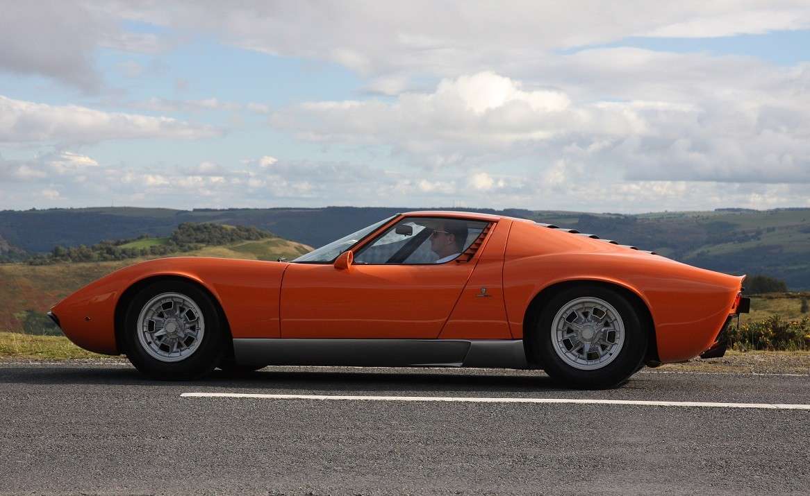 Lamborghini Miura From The Italian Job Is Up For Grabs