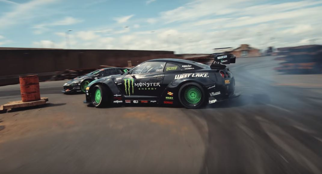 See The First Drifting Lamborghini Murcielago Compete Against A