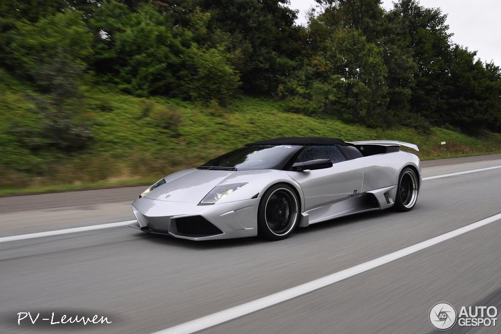 Lamborghini Murcielago Roadster Burns On German Autobahn