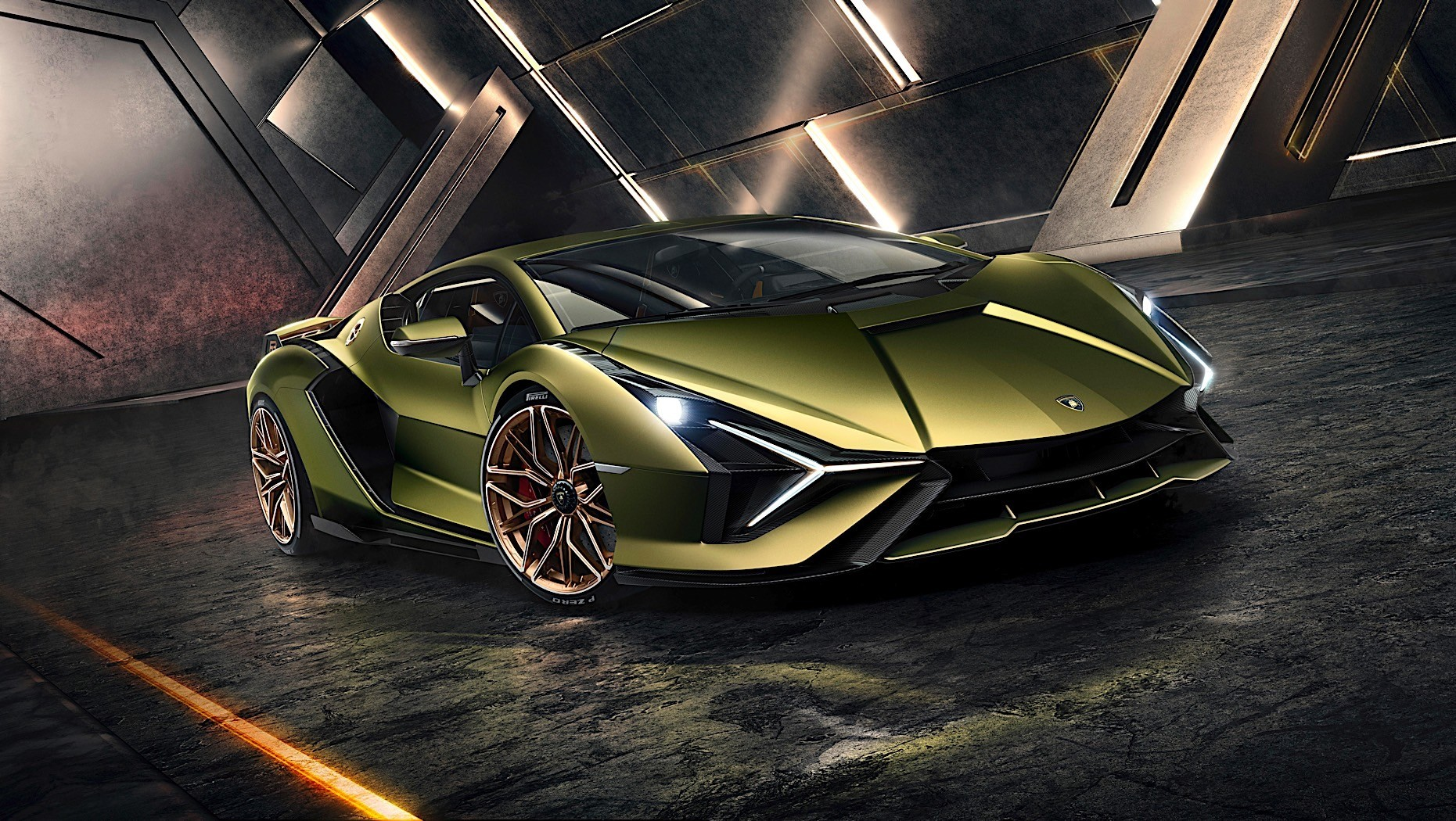 Lamborghini Sian Supercapacitor Is Child's Play, Meaner Tech