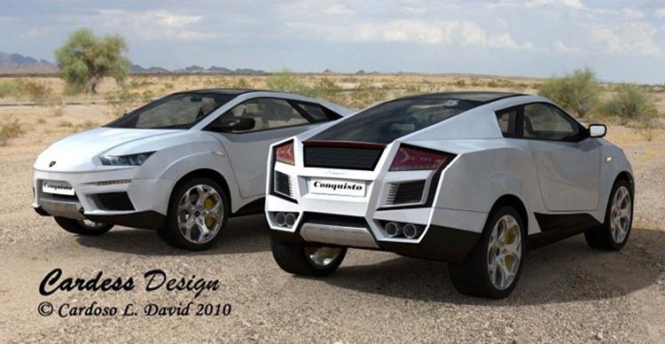 Lamborghini Suv Sketch Released Autoevolution