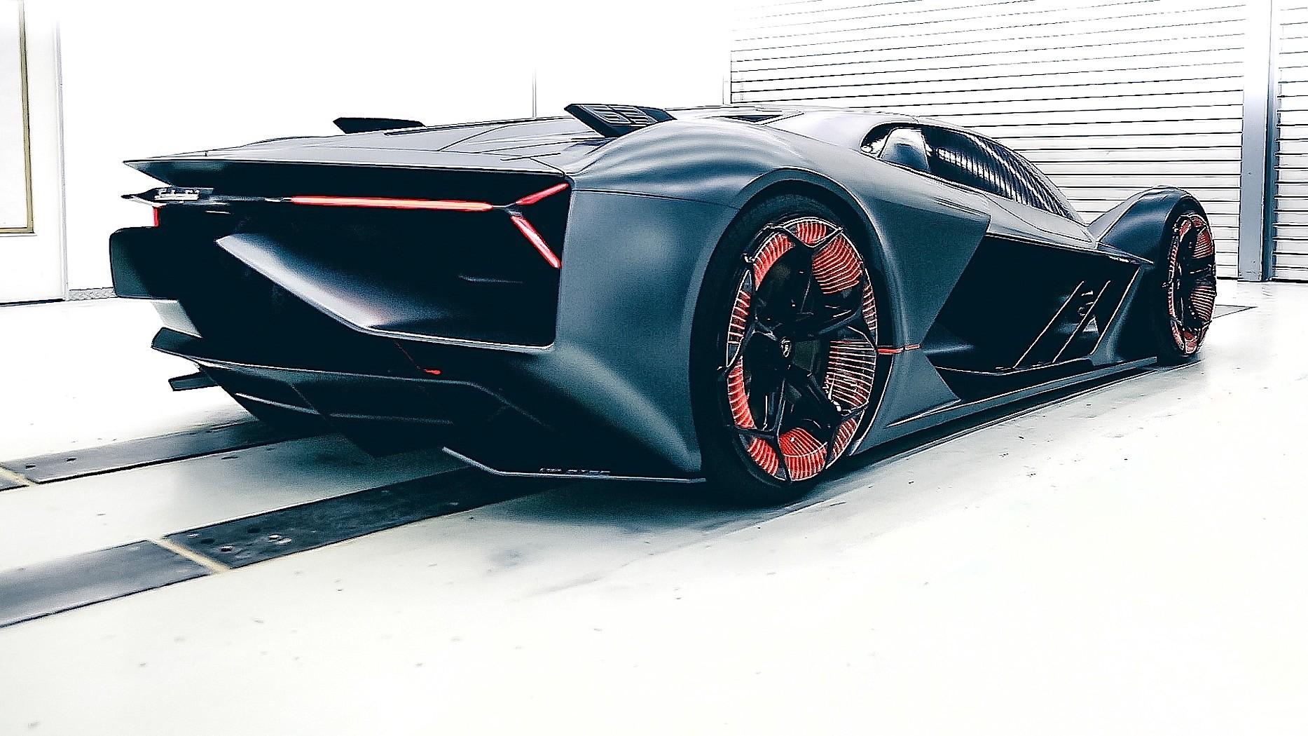Self Repairing Lamborghini Terzo Millennio Ev Concept Bets On Supercapacitors Autoevolution