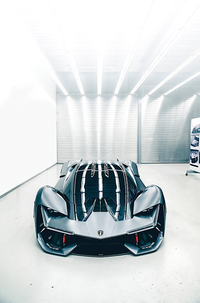 Self Repairing Lamborghini Terzo Millennio Ev Concept Bets