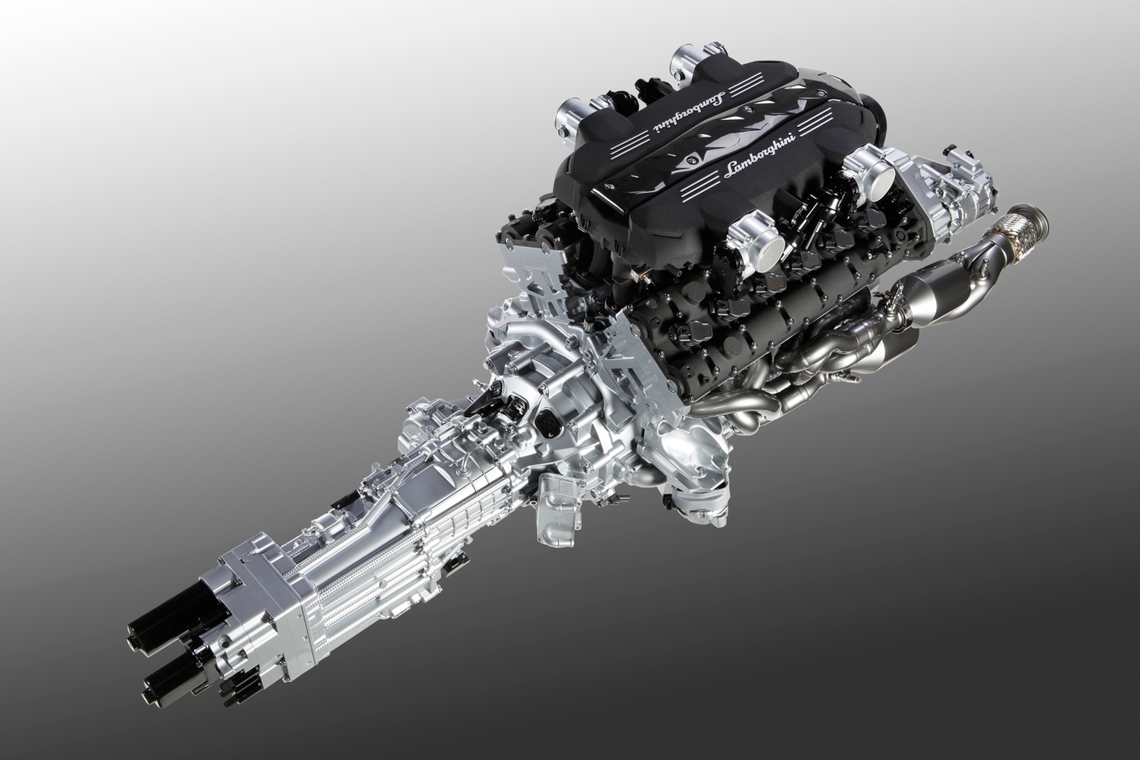 Lamborghini Unveils New 700 Hp 12 Cylinder Powerplant Isr Transmission Autoevolution