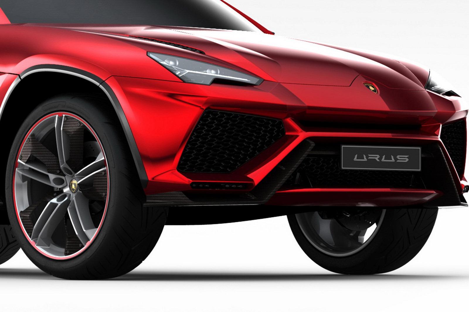 Lamborghini Urus Concept Is Born [Photo Gallery]  autoevolution