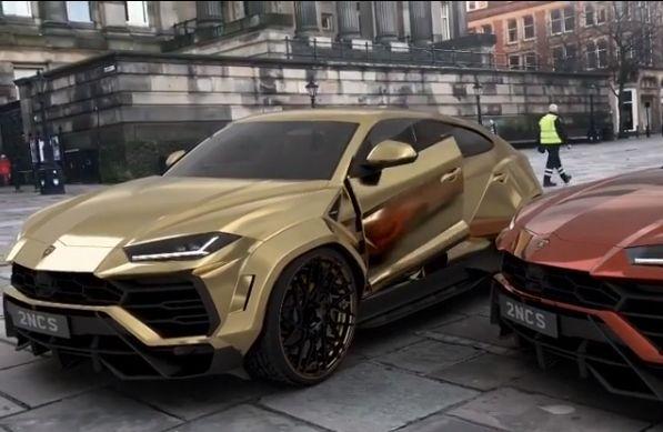 Lamborghini Urus Gets Lambo Doors In Wild Tuning Rendering