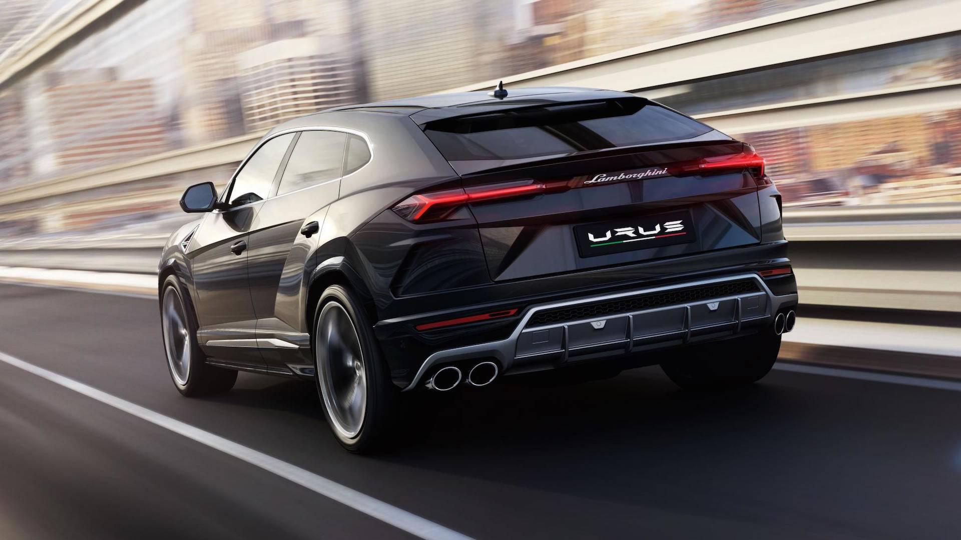 2018 Lamborghini Urus Shows Porsche 4.0liter TwinTurbo
