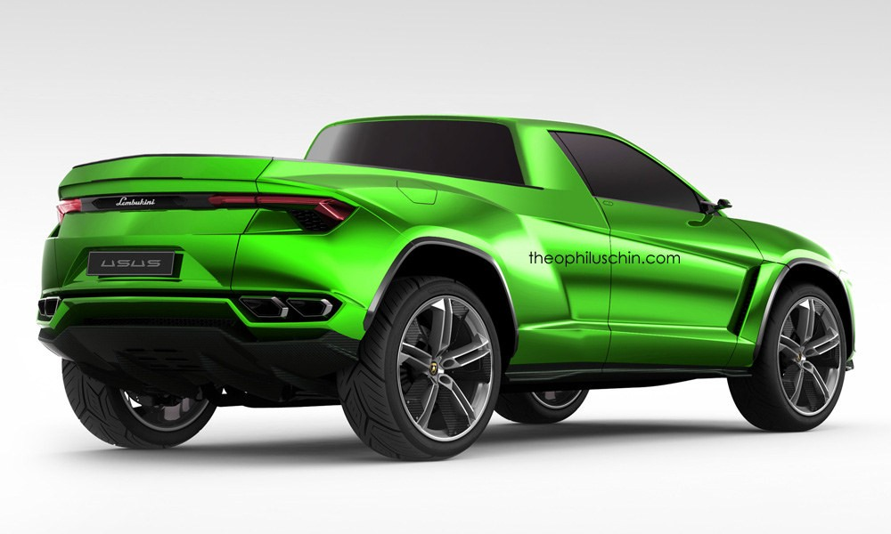 Lamborghini Urus Pickup Truck Is A Modern Lm002 Rendering 95277on 2016 Lamborghini Huracan Lp 580