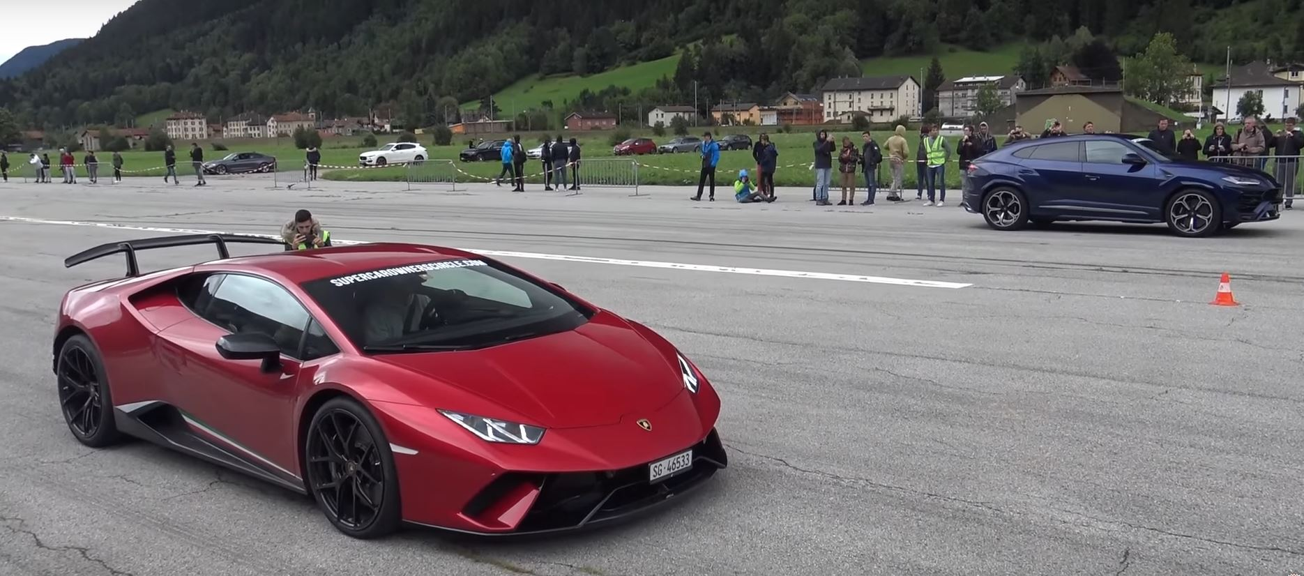 Lamborghini Urus Racing Itself Is The Most Swiss Thing Ever