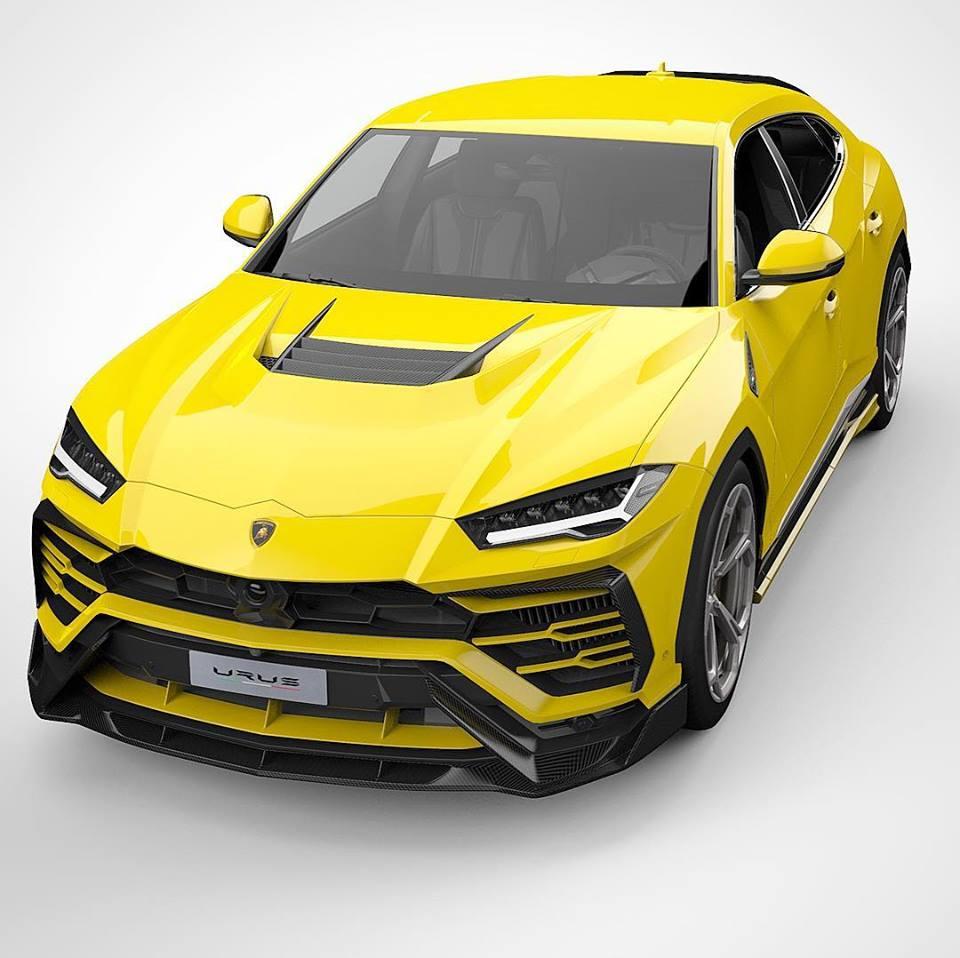 Lamborghini Urus: Lamborghini Urus Tuned By Vorsteiner Is Not Restrained