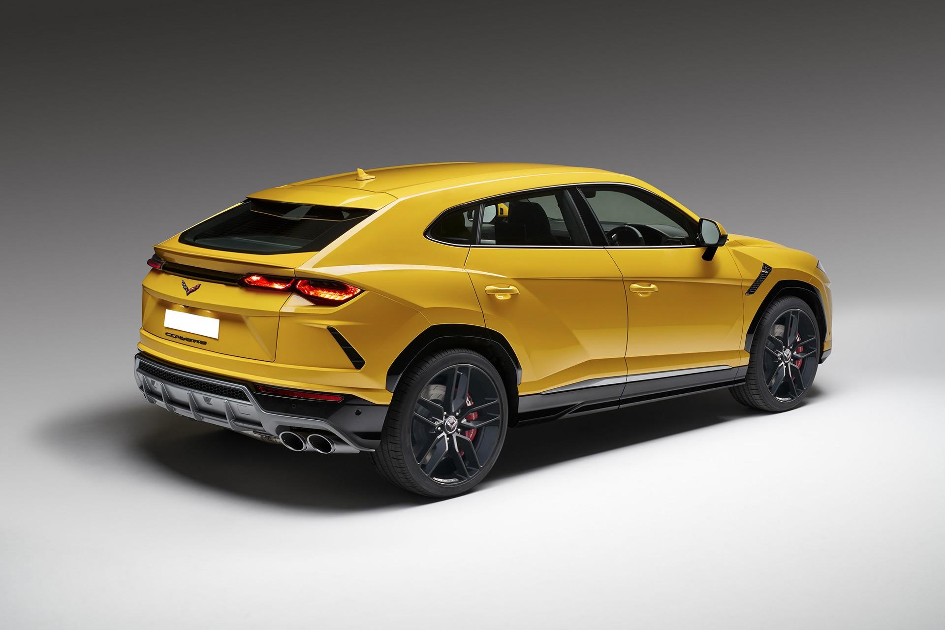 Lamborghini Urus With Face Swap Makes a Perfect Corvette ...