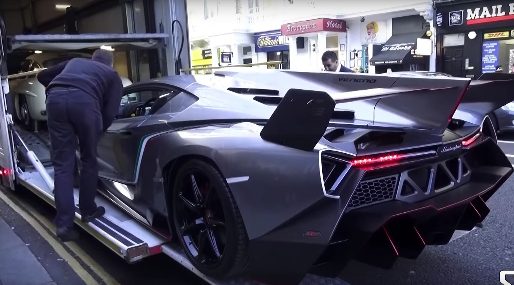 Lamborghini Veneno Concept Arrives In London For The 1st Time Autoevolution