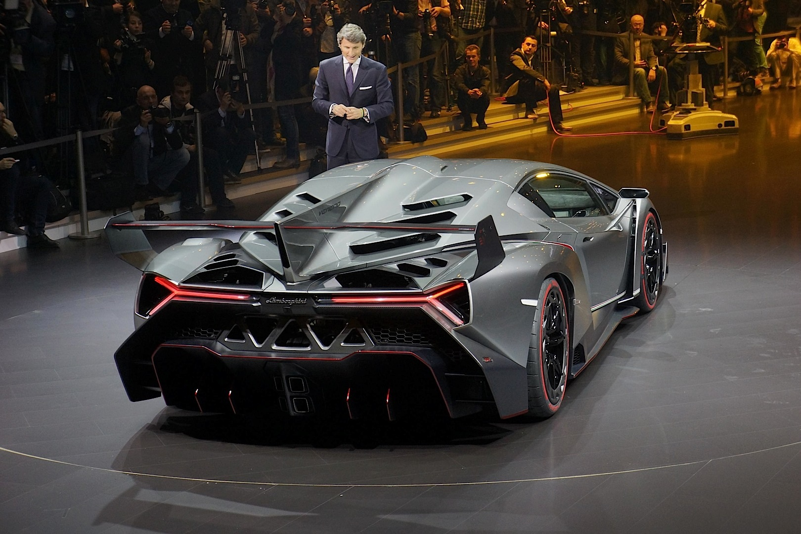 Lamborghini Veneno Named World's Ugliest Car - autoevolution