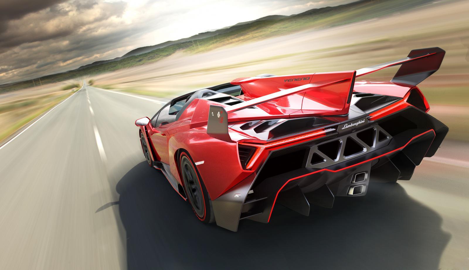 Lamborghini Veneno Roadster Breaks Cover Autoevolution