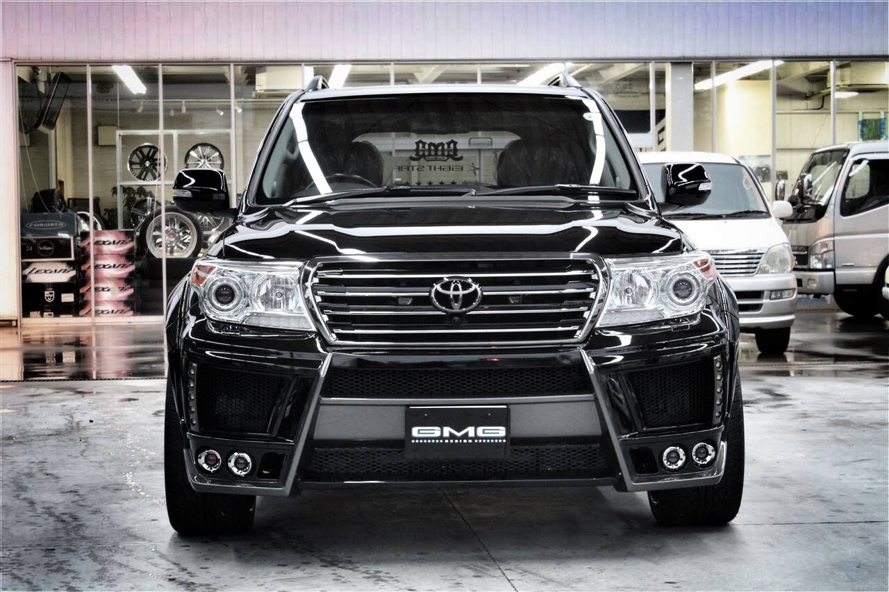 New Toyota Land Cruiser 300 Series >> Land Cruiser 200 Gets GMG88 Widebody Kit and Forgiato Wheels - autoevolution