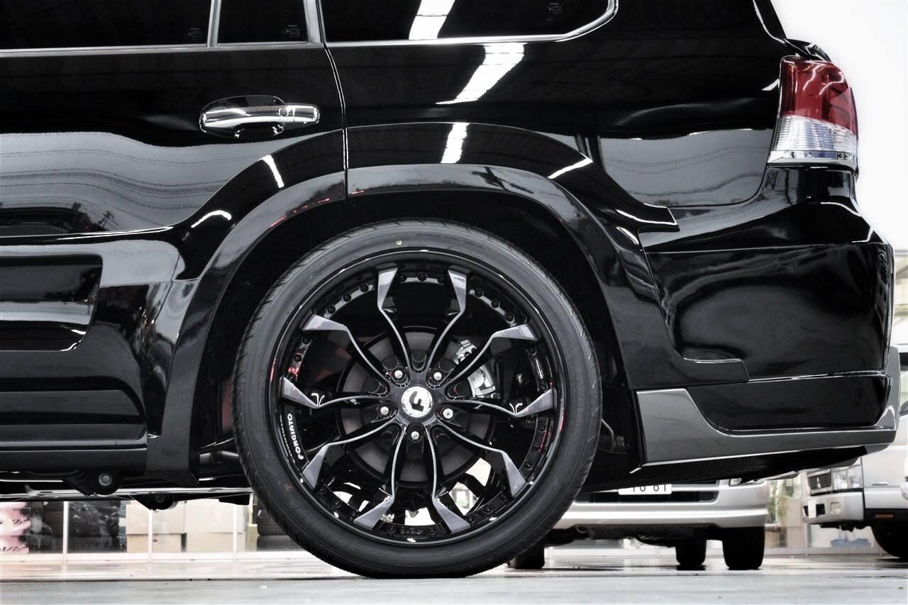 Land cruiser 200 gets gmg88 widebody kit and forgiato wheels autoevolution