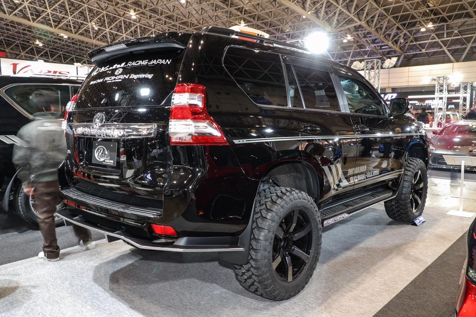 land cruiser prado gets engraved body kit from kuhl racing autoevolution land cruiser prado gets engraved body