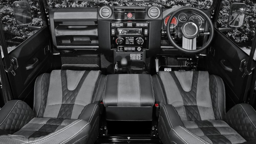 Land Rover Defender 7 Seater Gets Kahn Custom Touch