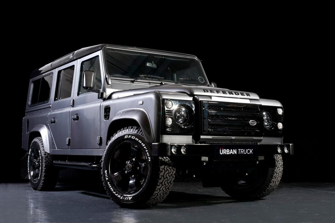 land rover defender gets tricked out by urban truck autoevolution. Black Bedroom Furniture Sets. Home Design Ideas