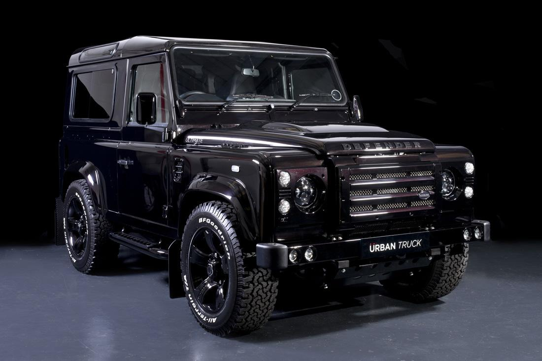 Land Rover Defender Gets Tricked Out by Urban Truck ...