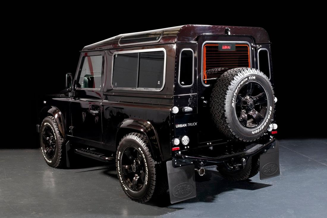 Land Rover Defender Gets Tricked Out By Urban Truck