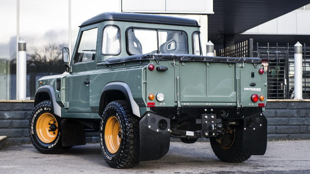 Land Rover Defender Pickup Customized by Kahn Design ...