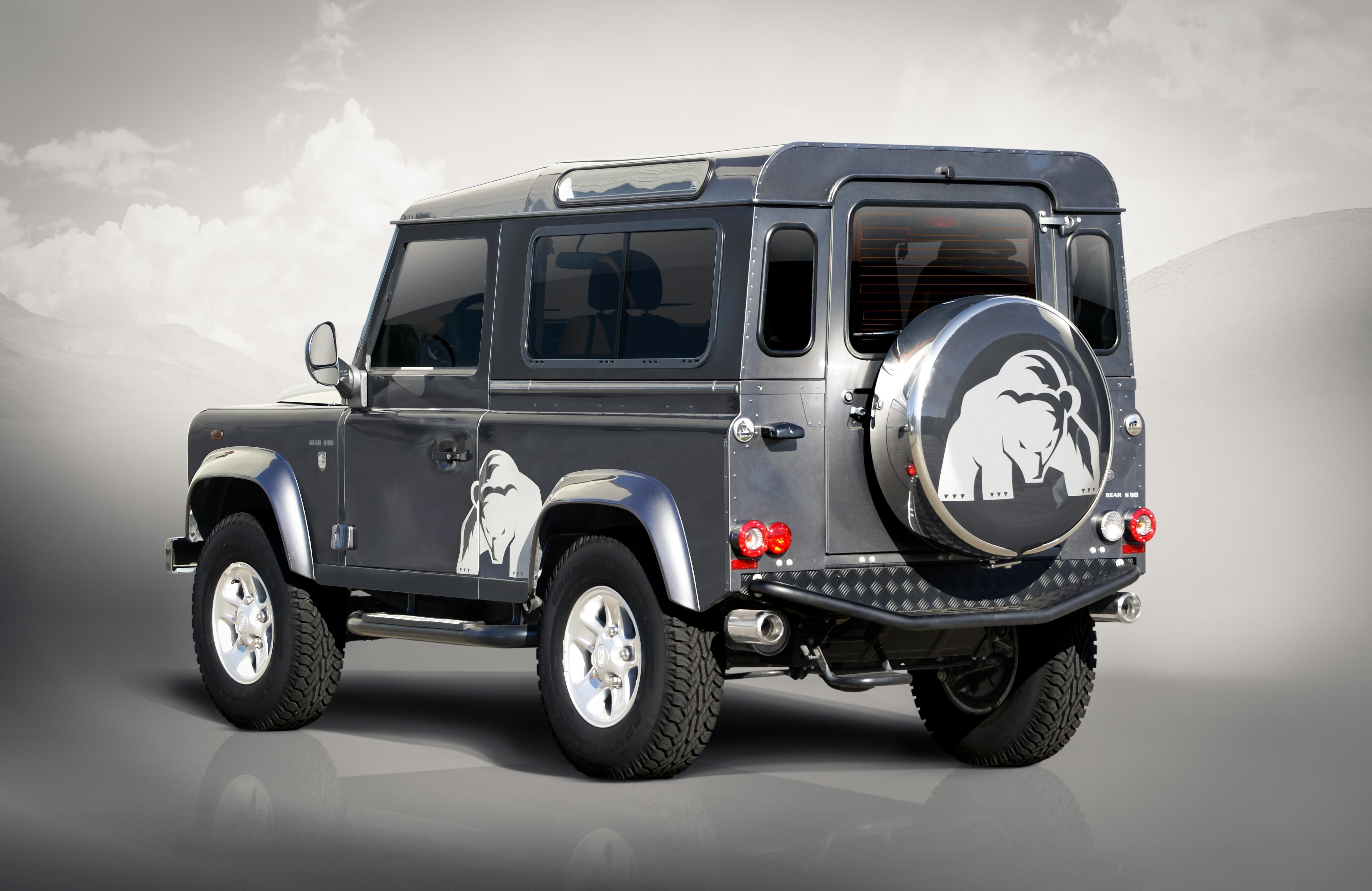 Land Rover Defender Tuning Nirvana Hofele Design Silver