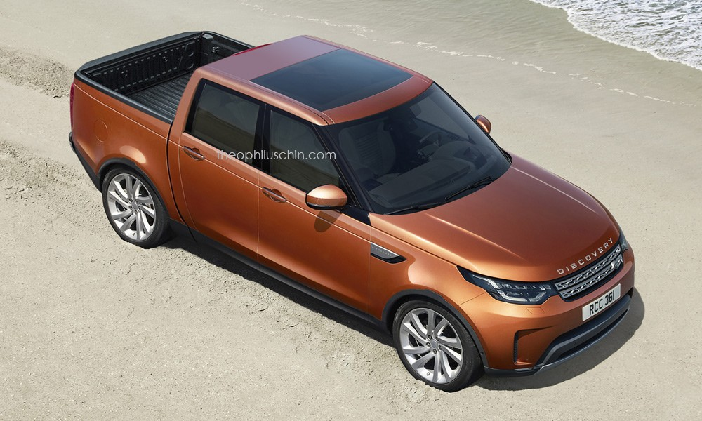 land rover discovery pickup would make a fine x class. Black Bedroom Furniture Sets. Home Design Ideas