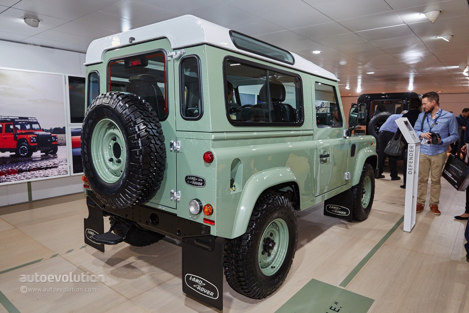 Worksheet. Land Rover Says Goodbye to the Defender in Geneva With 3 Special