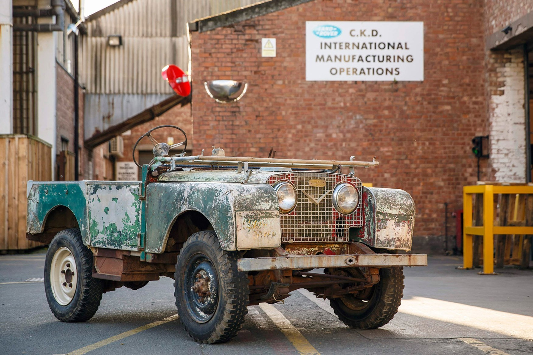 Land Rover Series 1 Reborn Is Irresistible Autoevolution