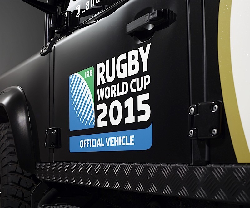 Land Rover Unveils One-Of-A-Kind Defender To Carry Rugby