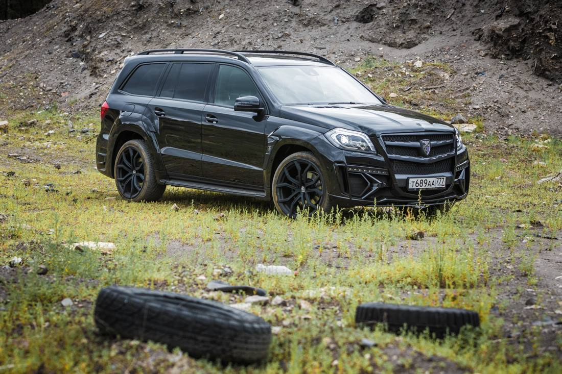 Mercedes-Benz GL 350 BlueTec Gets Reviewed by Car Advice ...