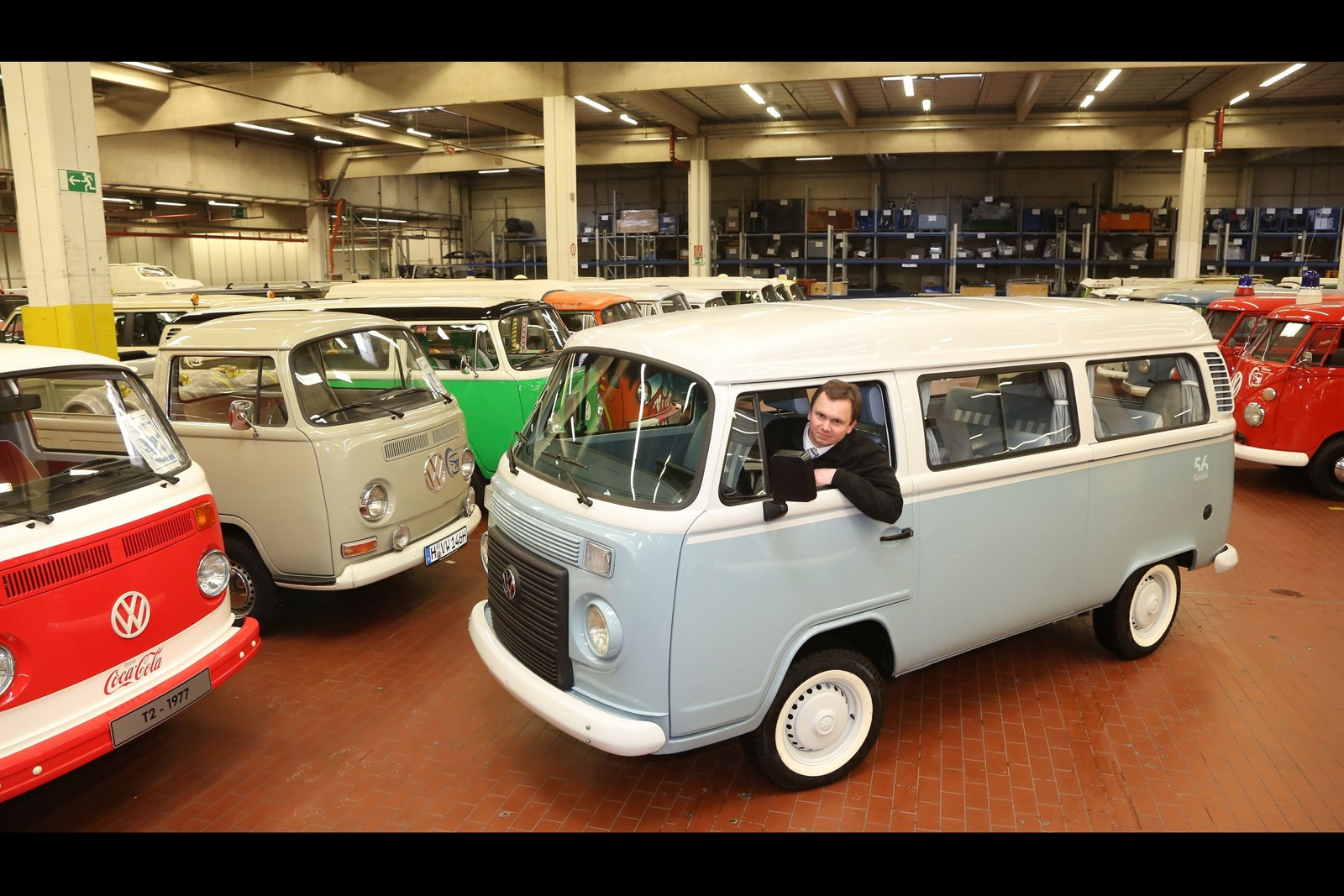 last vw type 2 kombi made in brazil brought to hannover. Black Bedroom Furniture Sets. Home Design Ideas