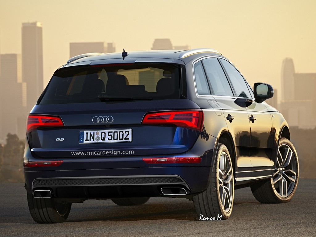 latest 2017 audi q5 rendering is the most accurate yet with hints of q7 and a4 autoevolution. Black Bedroom Furniture Sets. Home Design Ideas