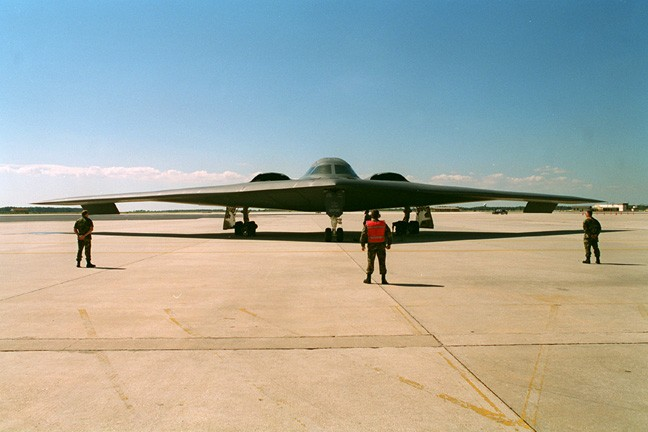 Latest Usaf Stealth Bomber Gets Its Internet Given Name B
