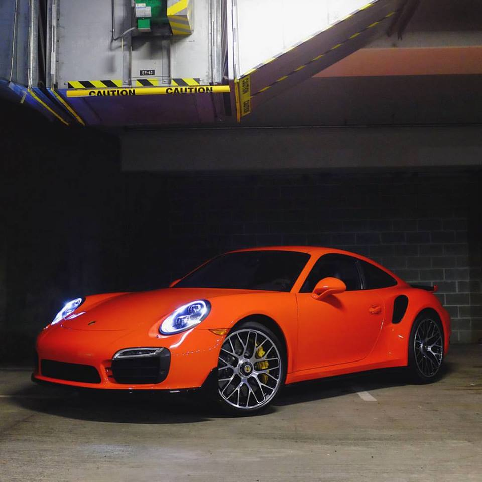 Lava Orange 911 Turbo S Replaces 911 Gt3 Rs In Porsche