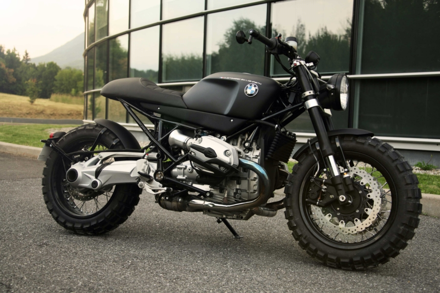 Extrêmement Lazareth Shows the Ultimate BMW R1200R Cafe-Scrambler - autoevolution LU02