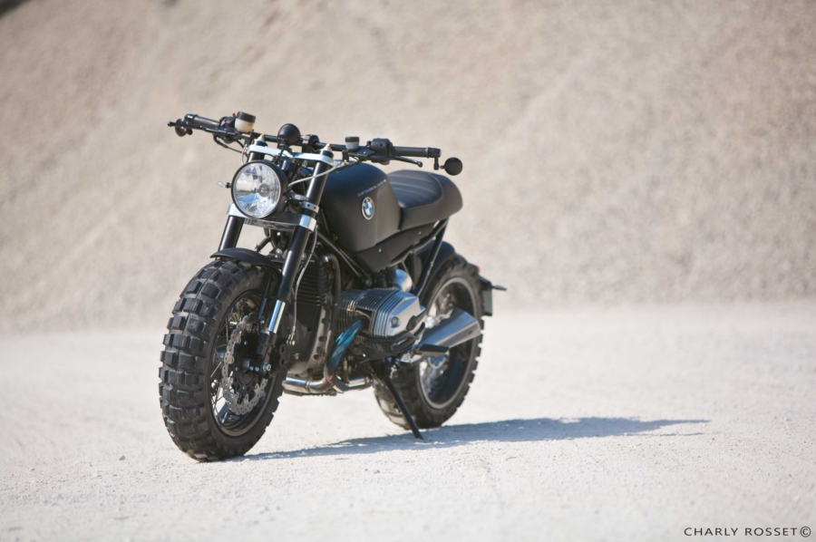 Lazareth Shows The Ultimate Bmw R1200r Cafe Scrambler Autoevolution