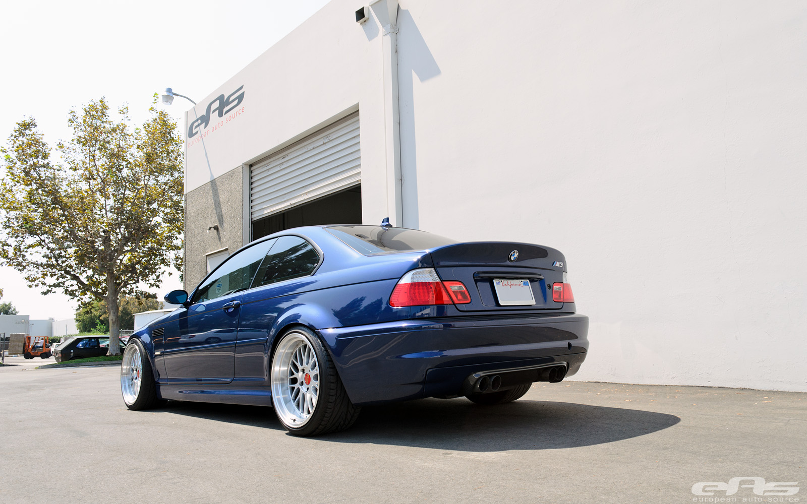 Le Mans Blue BMW E46 M3 Supercharged at EAS - autoevolution