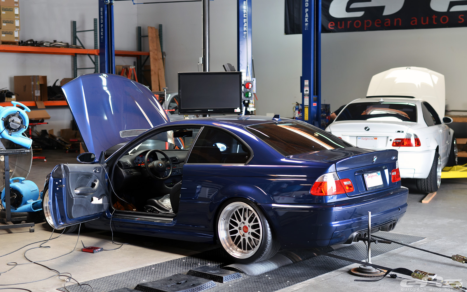 Le Mans Blue Bmw E46 M3 Supercharged At Eas Autoevolution