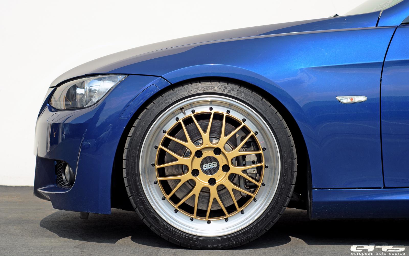 Le Mans Blue Bmw E92 335i Hops On Bbs Lm Wheels