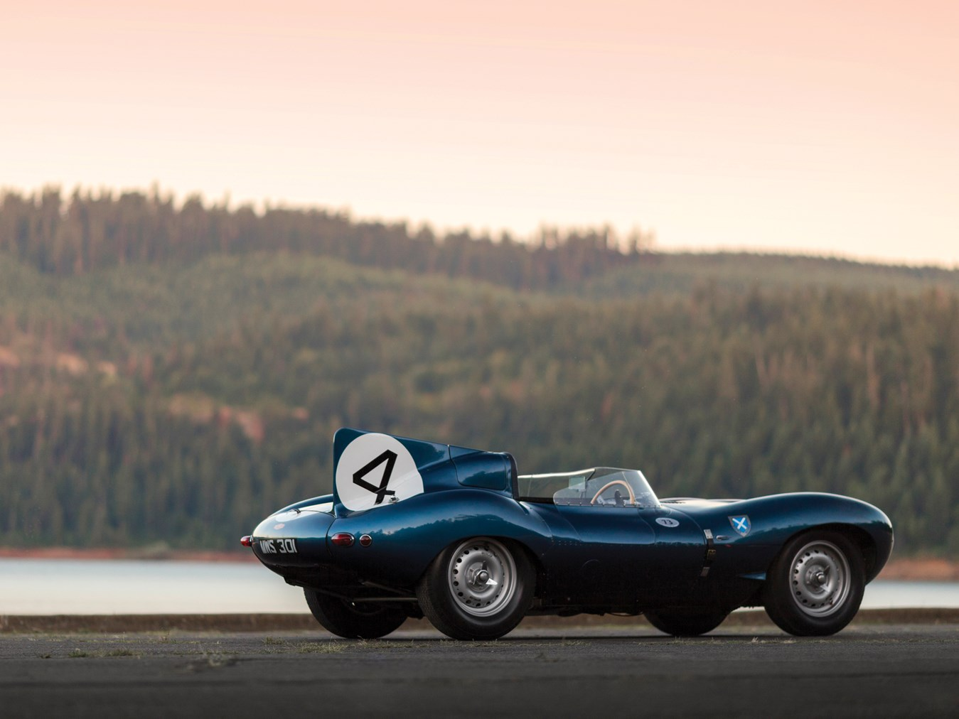 Le Mans Winning Jaguar D Type Sets Record Price For