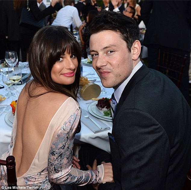 lea michele and cory monteith age difference in relationship