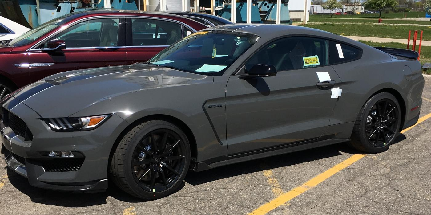 Lead Foot Gray Looks Smashing On 2018 Shelby Gt350 Mustang