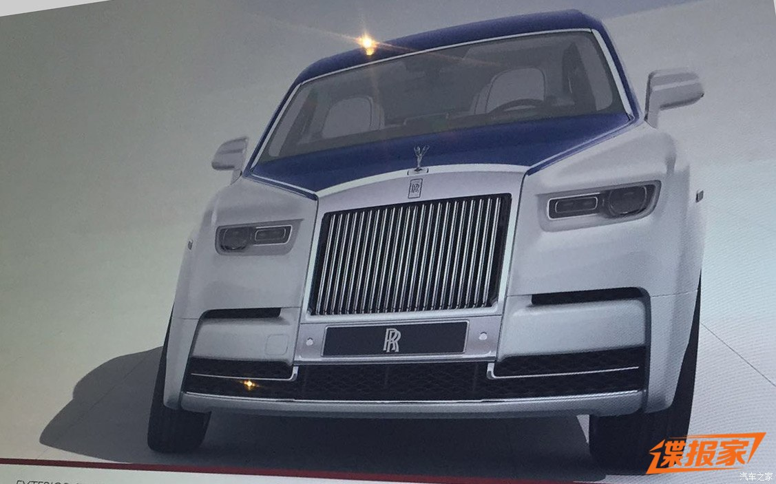 leaked 2018 rolls royce phantom viii has laser headlights autoevolution. Black Bedroom Furniture Sets. Home Design Ideas