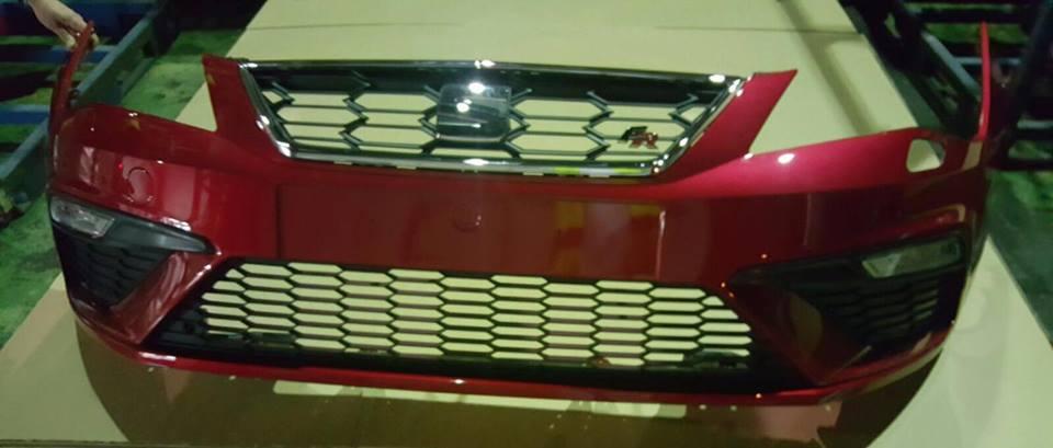 leaked seat leon 5f fr facelift front bumper autoevolution. Black Bedroom Furniture Sets. Home Design Ideas