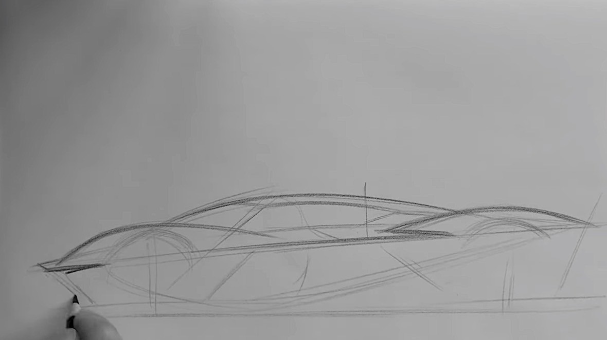 Learn How To Draw An Aston Martin Valkyrie In 4 Minutes Autoevolution