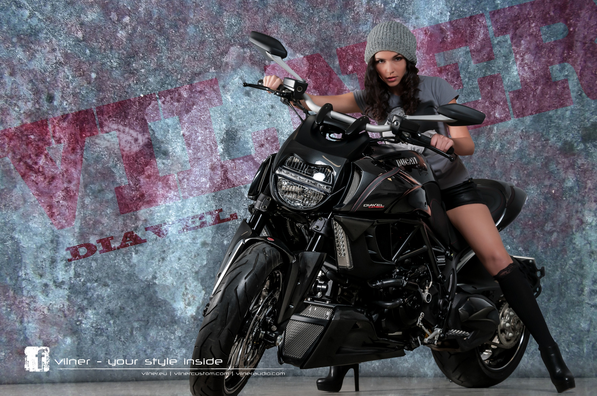 Leather Trim Ducati Diavel From Vilner With Love
