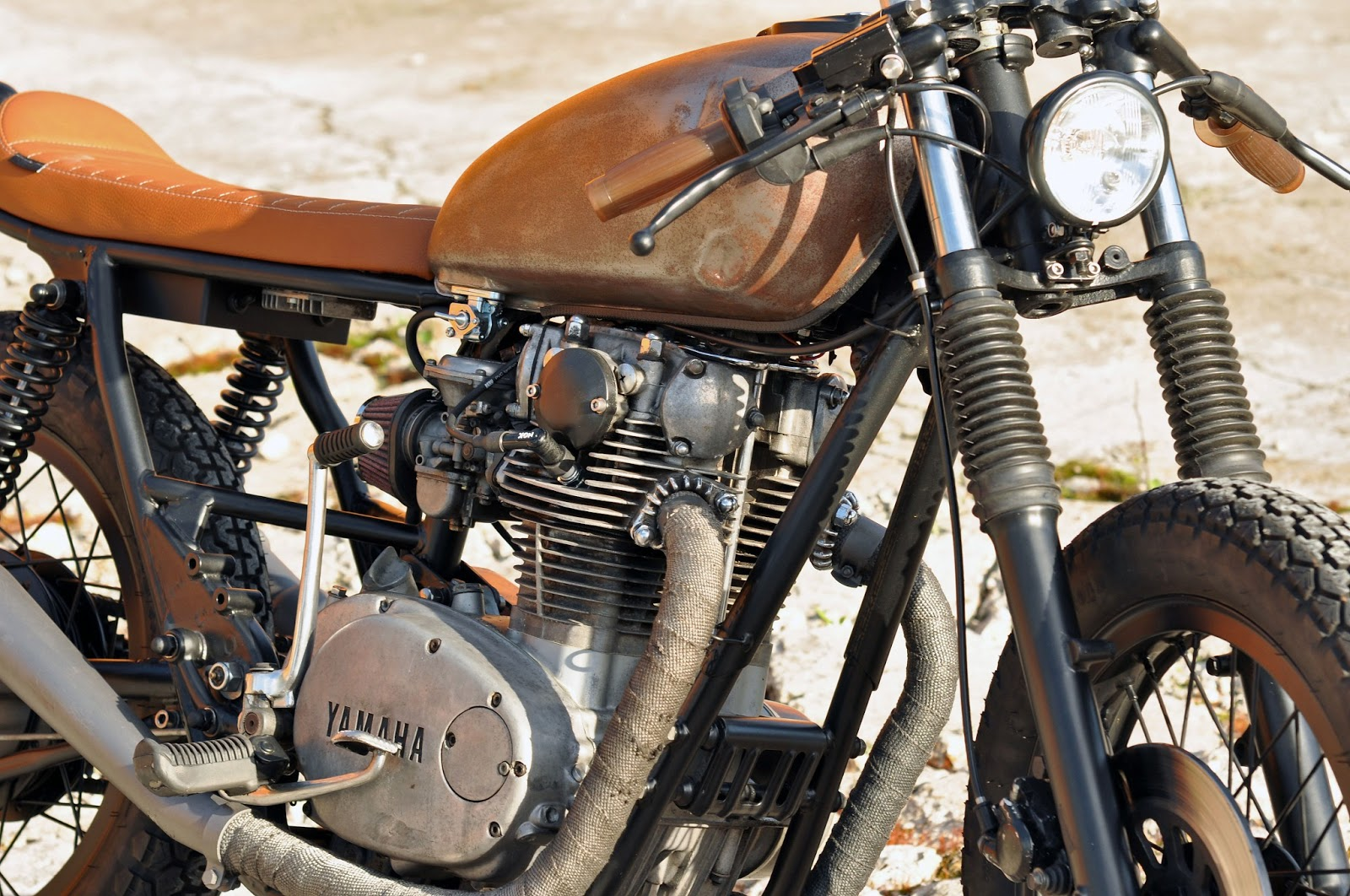 Left Hand Cycles Destroys Yamaha Xs650 To Create The Acid