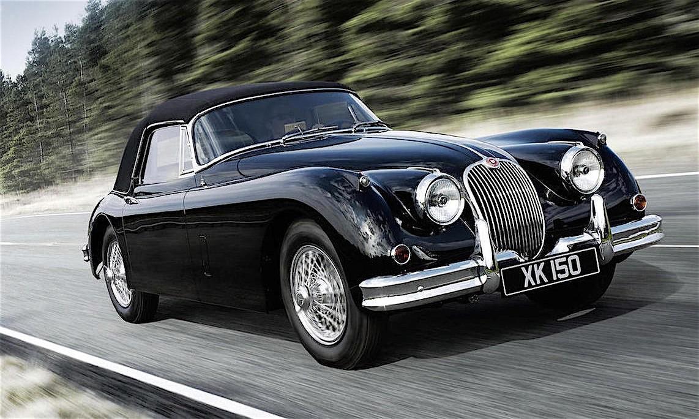 Left hand drive jaguar xk150 drophead coupe sets auction record at bond street sale autoevolution - Jaguar xk150 drophead coupe ...